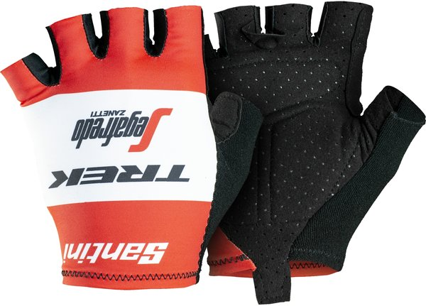 Santini Trek-Segafredo Men's Team Cycling Glove Color: Red/White