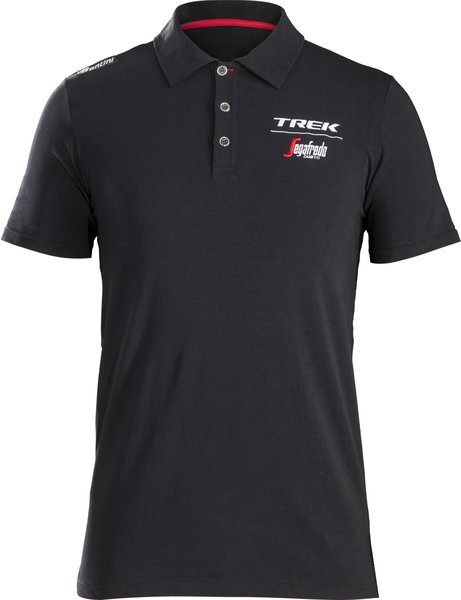 Santini Trek-Segafredo Men's Team Polo Color: Black/White