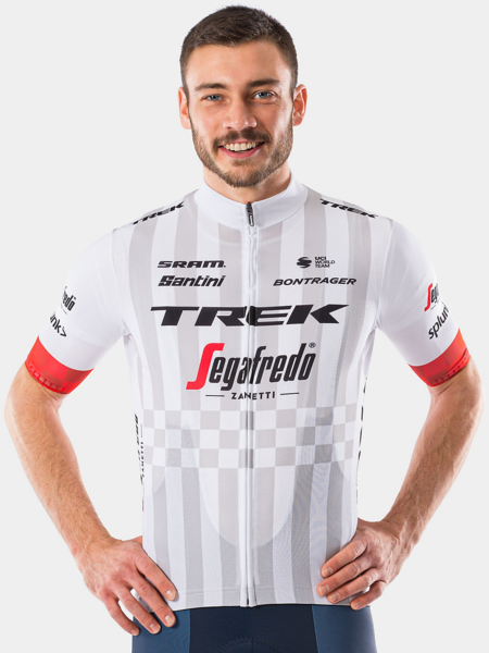 Santini Trek-Segafredo Men's Team Supporters' Replica Jersey Color: White