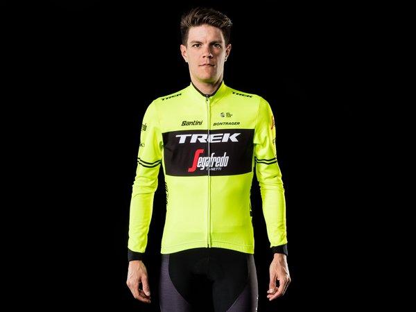 Santini Trek-Segafredo Men's Team Thermal LS Cycling Jersey