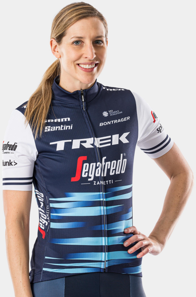 Santini Trek-Segafredo Women's Team Replica Jersey Color: Dark Blue/White