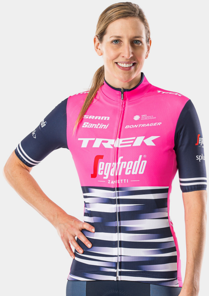Santini Trek-Segafredo Women's Team Supporters' Replica Jersey Color: Pink