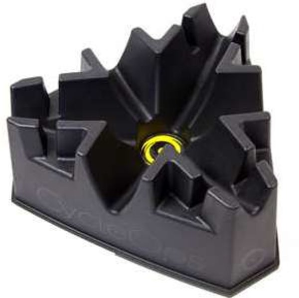 Saris Climbing Riser Block Color: Black/Yellow