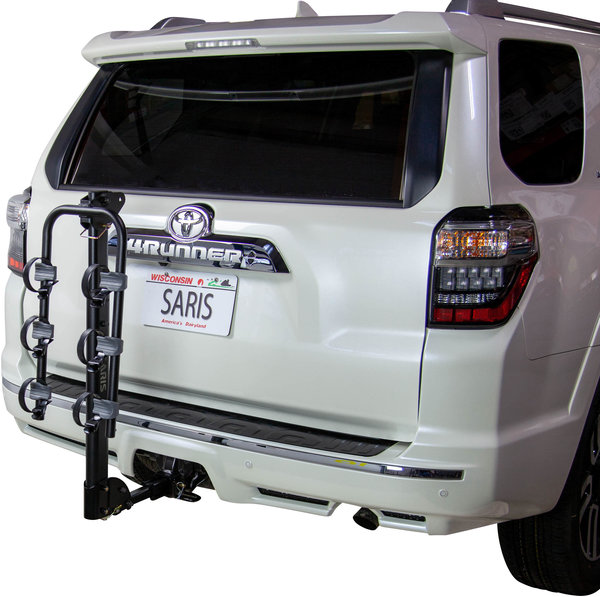 Saris Grand Slam 3-Bike Universal Hitch Rack Color: Black