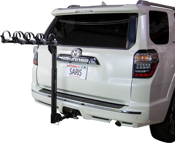 Saris Grand Slam 4-Bike Universal Hitch Rack Color: Black