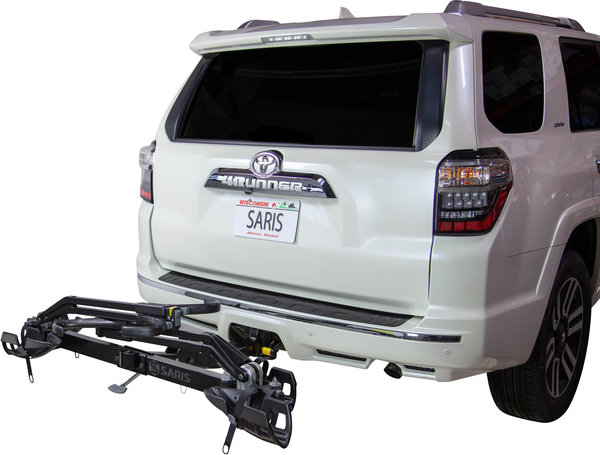 Saris Superclamp HD 2-Bike Hitch Rack Color: Black
