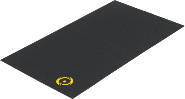 Saris Trainer Mat Color: Black/Yellow