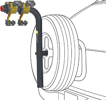 Saris B.A.T. Spare Tire Rack
