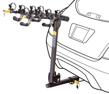 Saris T-Rax Pro (2-Bike, Universal Hitch Mount)