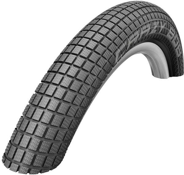 Schwalbe Crazy Bob 24-inch Bead | Color | Model | Size: Wire | Black | Addix | 24 x 2.35