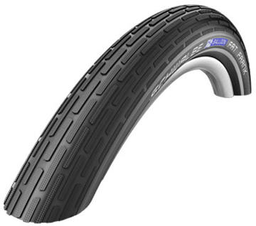 Schwalbe Fat Frank Color: Black/Reflex