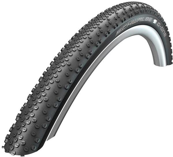 Schwalbe G-One Bite 700c Bead | Color | Model | Size: Folding | Black | OneStar | 700 x 38c