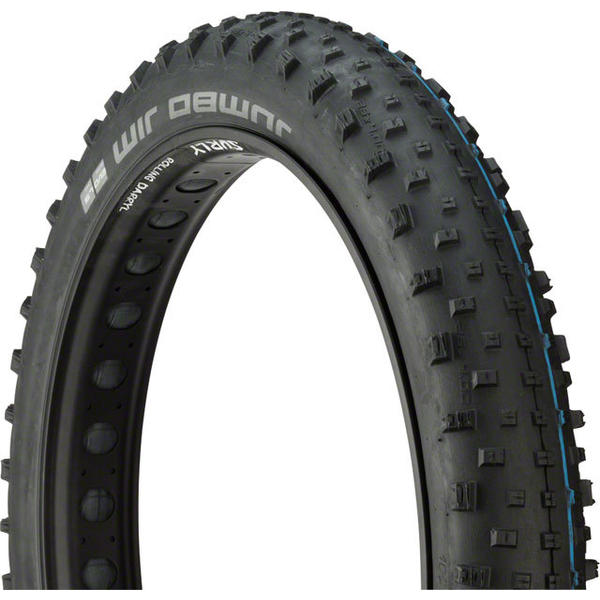 Schwalbe Jumbo Jim Addix - Evolution Line 26-inch Fat Bike Tire Color: Black