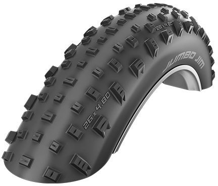 Schwalbe Jumbo Jim Evolution Line Tire Color: Black