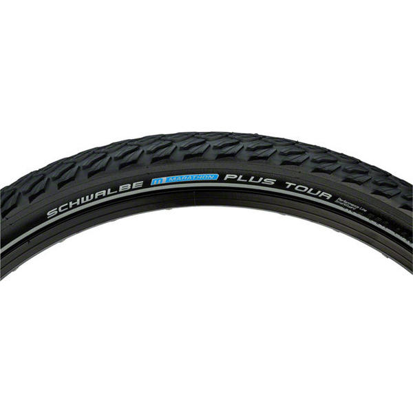 Schwalbe Marathon Plus Tour Performance Line 26-inch Color: Black
