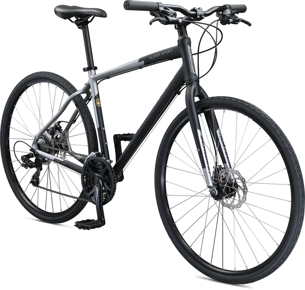 Schwinn Super Sport Color: Matte Black/Grey