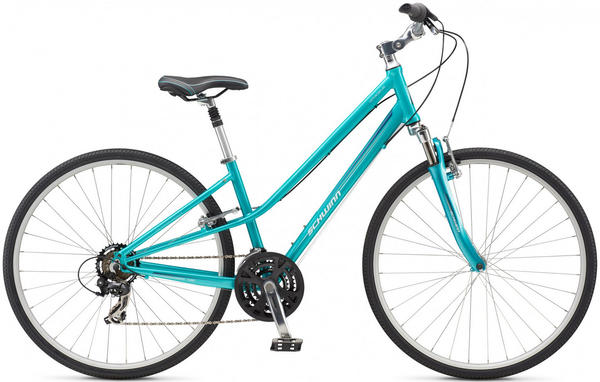Schwinn Voyageur Step-Thru Color: Ocean Teal