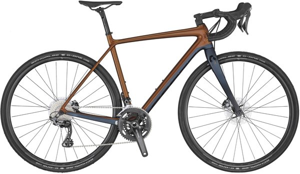 Scott Addict Gravel 20 Color: Brown/Navy