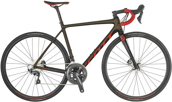 Scott Addict RC 20 Disc Color: Black/Red