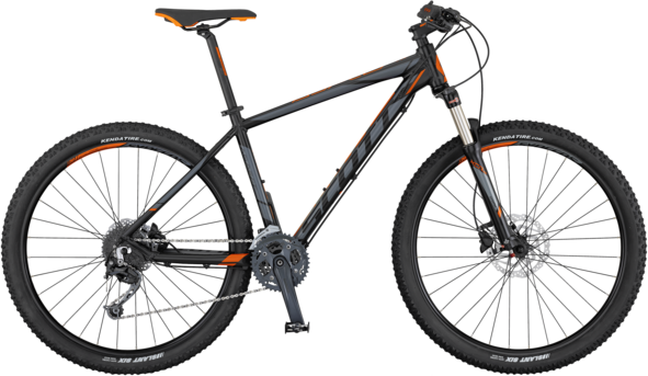 Scott Aspect 930 Color: Black/Grey/Orange