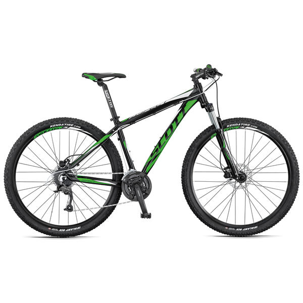 Scott Aspect 950 Color: Black/Green