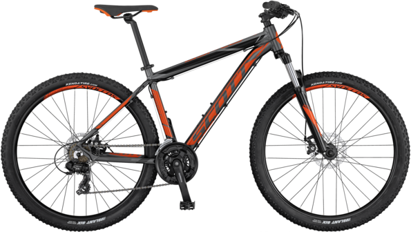 Scott Aspect 970 Color: Black/Gray/Orange