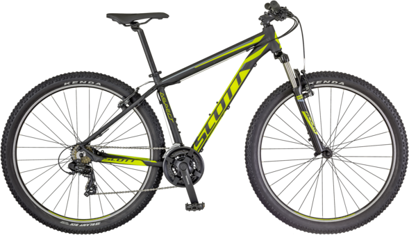Scott Aspect 980 Color: Black/Neon Green