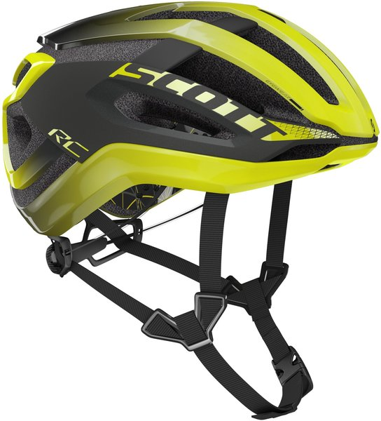 Scott Centric PLUS (CPSC) Helmet Color: Radium Yellow/Dark Grey