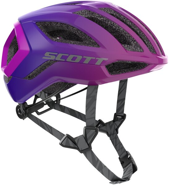 Scott Centric+ Supersonic Edition (CPSC) Helmet Color: Black/Drift Purple