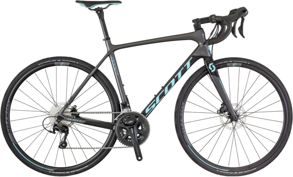 Scott Contessa Addict 25 Disc Color: Black/Blue