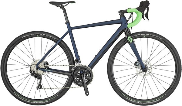 Scott Contessa Speedster Gravel 15 Color: Blue/Black/Green