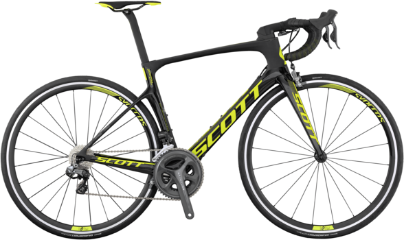 Scott Foil 10 Color: Black/Yellow