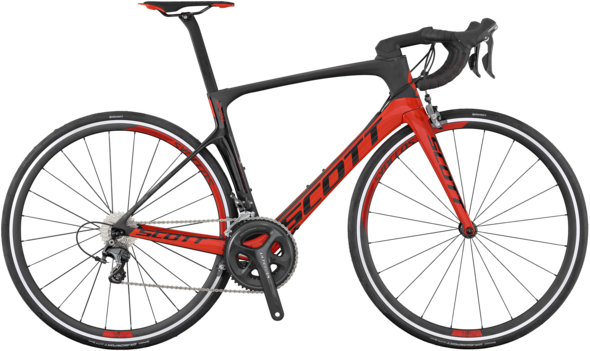 Scott Foil 20 Color: Black/Red