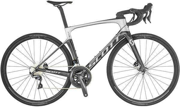 Scott Foil 20 Disc Color: Silver/Black