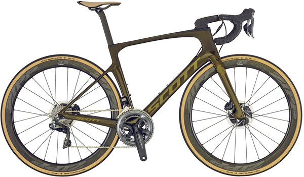 Scott Foil Premium Disc Color: Bronze