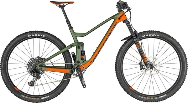 Scott Genius 930 Color: Green/Orange