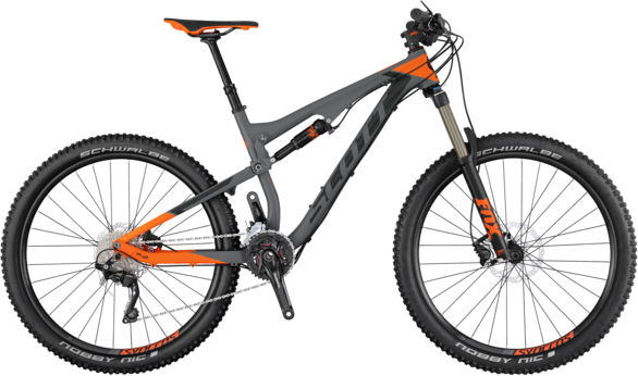 Scott Genius 940 Color: Black/Gray/Orange