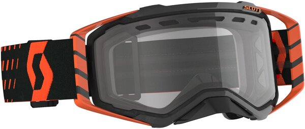 Scott Prospect Enduro Goggle Color | Lens: Orange/Black | Clear