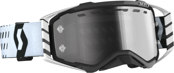 Scott Prospect Enduro LS Goggle Color | Lens: Black/White | Light Sensitive Grey