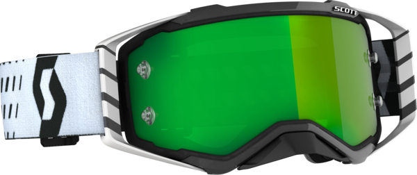 Scott Prospect Goggle Color | Lens: Black/White | Green Chrome Works