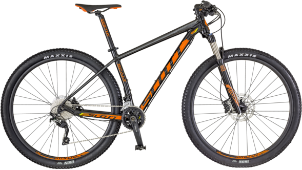 Scott Scale 970 Color: Black/Orange