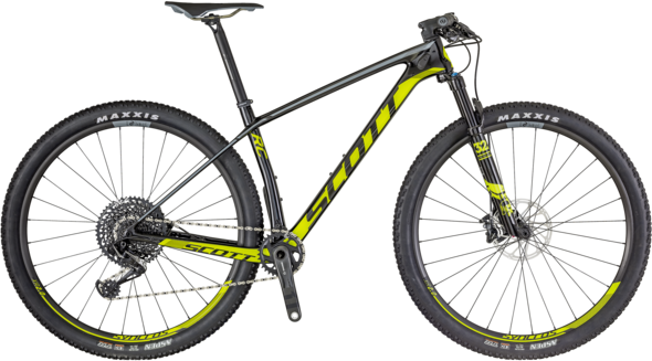 Scott Scale RC 900 Pro Color: Black/Neon Green