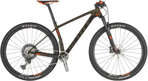 Scott Scale RC 900 Pro Color: Black/Orange