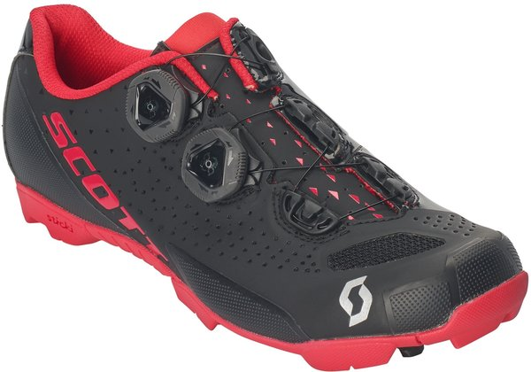 Scott MTB RC Lady Shoe Color: Matt Black/Berry Red