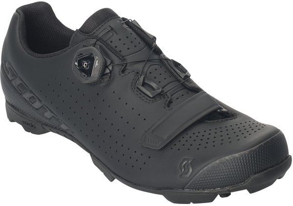 Scott MTB Vertec BOA Shoe Color: Matt Black/Gloss Black