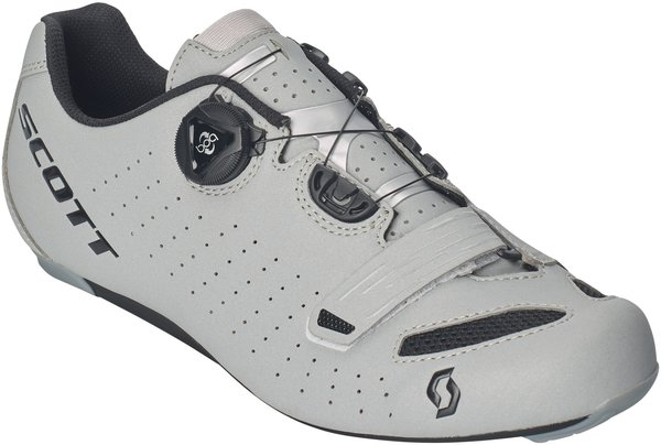 Scott Shoe Road Comp BOA Reflective Lady Shoe Color: Reflective Black