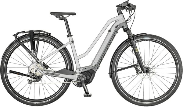 Scott Silence eRide 10 Lady Color: White/Silver