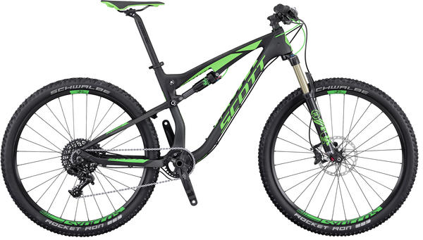 Scott Spark 720 Color: Black/Lime Green