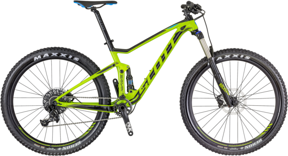 Scott Spark 740 Color: Green/Black