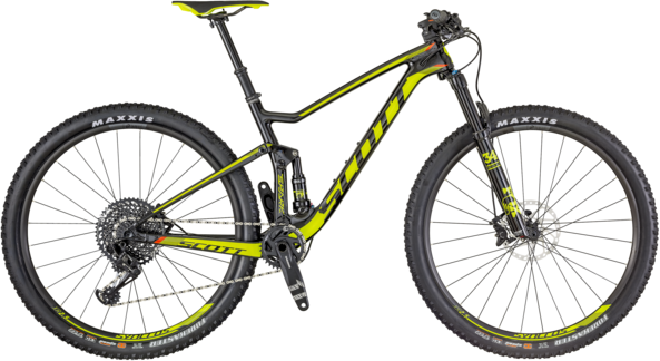 Scott Spark 920 Color: Black/Neon Green
